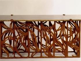 table mobilier nettoyée